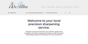Website Portfolio - Jackson Sharpening